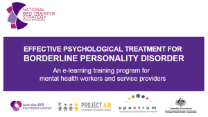 e-learning training program for mh workers and service providers