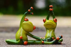 frog-toys-doing-gymnastics